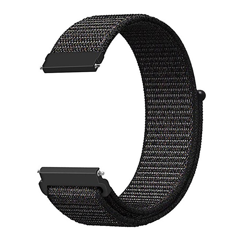 22mm 20mm Nylon Loop Active 2 Strap For Samsung Galaxy 46mm 42mm Bands Gear S3 Band For Xiaomi Huami Amazfit Sport/ Bip