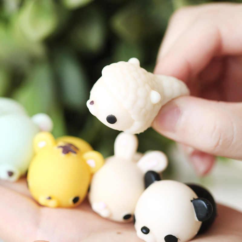 1pcs Panda anatra coniglio pecore Animale Vent Giocattolo Anti-Stress Della Sfera Della Novità Divertente Antistress Spremitura Esercizio Dito Alleviare Lo Stress