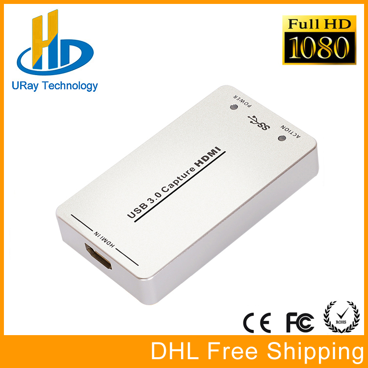 1080P 60fps UVC Free Driver HDMI Video Capture Card / Grabber USB Support USB3.0 / USB2.0 Capture HDMI For Linux, Windows, OS X elp mini pc video card hdmi output for linux raspberry pi os video capture decoder can be used as hdmi camera