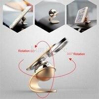 KUMIETEC Premium Finger Ring Magnetic Socket For Iphone 360 Rotate Universal Car Mount Mobile Phone Metal