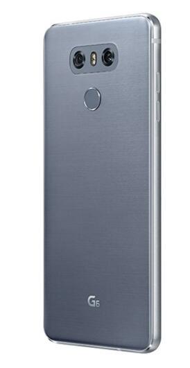 Разблокированный LG G6 4G Оперативная память 32G/64 Встроенная память 13MP 5,7 ''4 аппарат не привязан к оператору сотовой связи мобильного телефона с одной Sim-картой H870 H871 H872 H873 VS988 Dual sim H870DS - Цвет: gray