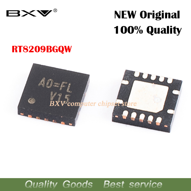 10pcs RT8209BGQW RT8209B RT8209 AO=BD A0=BJ AO=BK A0=CC A0=  QFN New Original Laptop Chip Free Shipping