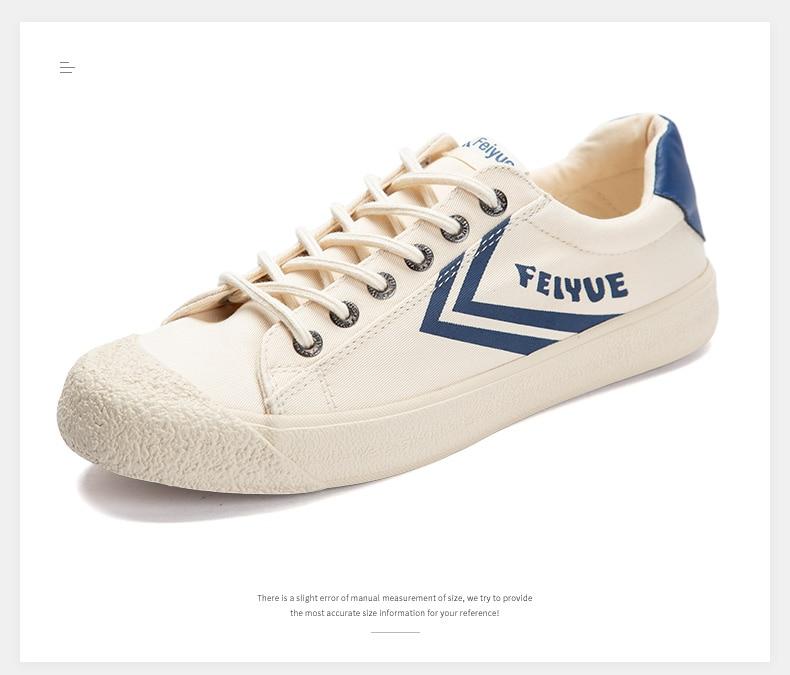 Feiyue shoes New classic Martial arts Tai Chi canvas shoes Rubber shoes men women sneakers 12