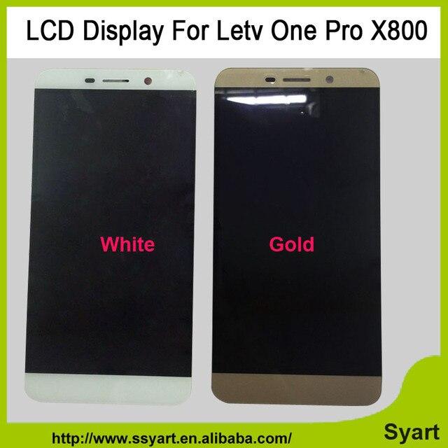 """Высокое качество Белый/Золото 5.5 """"ЖК-Дисплей С Сенсорным Экраном Digitizer Замена X800 Сотовый Телефон Частей Для Пусть V One Pro Le 1 Про X800"""