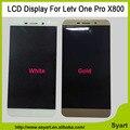 """Alta qualidade Branco/Ouro 5.5 """"Display LCD Touch Screen Digitalizador Substituição Peças de Telefone Celular Para Letv X800 One Pro Le 1 Pro X800"""