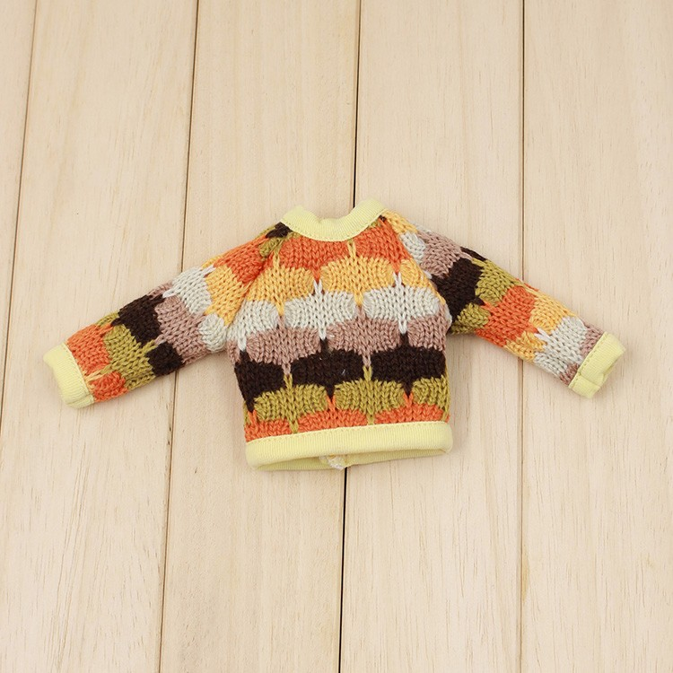 Neo Blythe Doll Colorful Sweater 7
