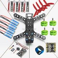 QAV280 Quadcopter Frame Kit Pixhawk PX4 Autopilot PIX 2 4 8 Flight Controller 20A ESC BLHeli