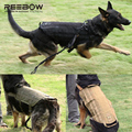 Army k9 Tactical Outdoor Dog Harness SWAT Canine Training Dog Molle Vest Harness Military Dog Vest Load Bearing Molle Harness