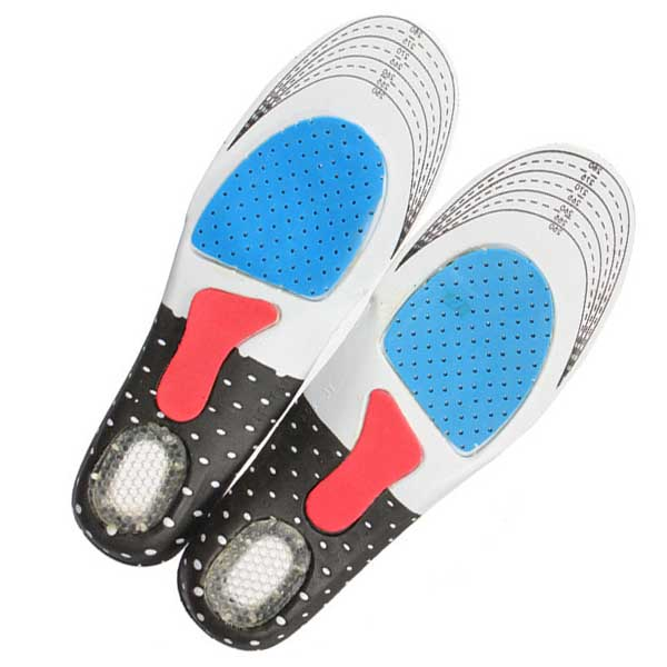 2Pcs Unisex Sneaker Insoles Orthotic Arch Sport Shoe Pads Running Insoles