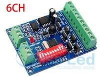6 Channel Easy DMX LED Controller 6 Channel Dmx 512 Dimmer Dmx Decoder LED DMX512 Decoder