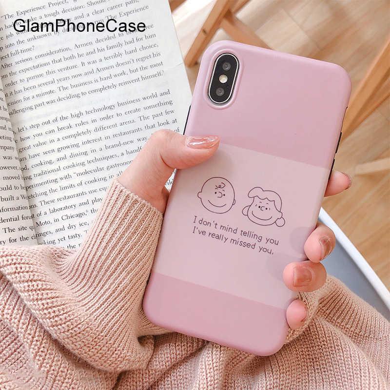 Милый розовый чехол GlamPhoneCase для телефона iPhone 7 8 Plus XS Max XR чехлы X 6 S мягкий из ТПУ