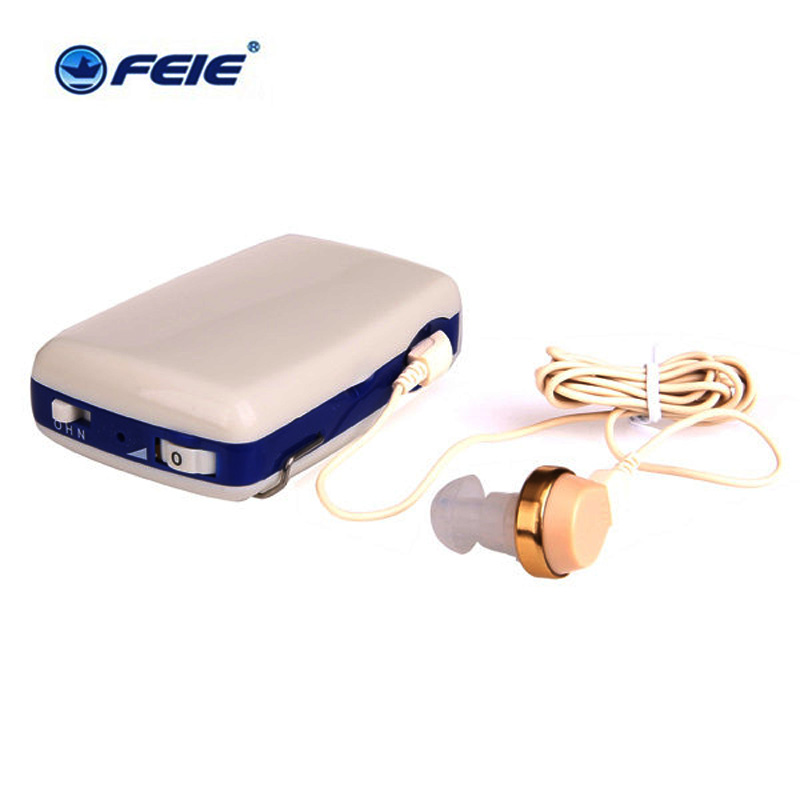 Analog Pocket Hearing Aid Portable Interchangeable Deaf Aids Amplifier Free Shipping analog bte hearing aid deaf sound amplifier s 288 deaf aid with digital processing chip free shipping