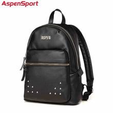 Aspensport 2018 Hot Girl's Daily Bag Student School Backpack For Teenager Girl & Boy High Quality Preppy Style Travel Backpack