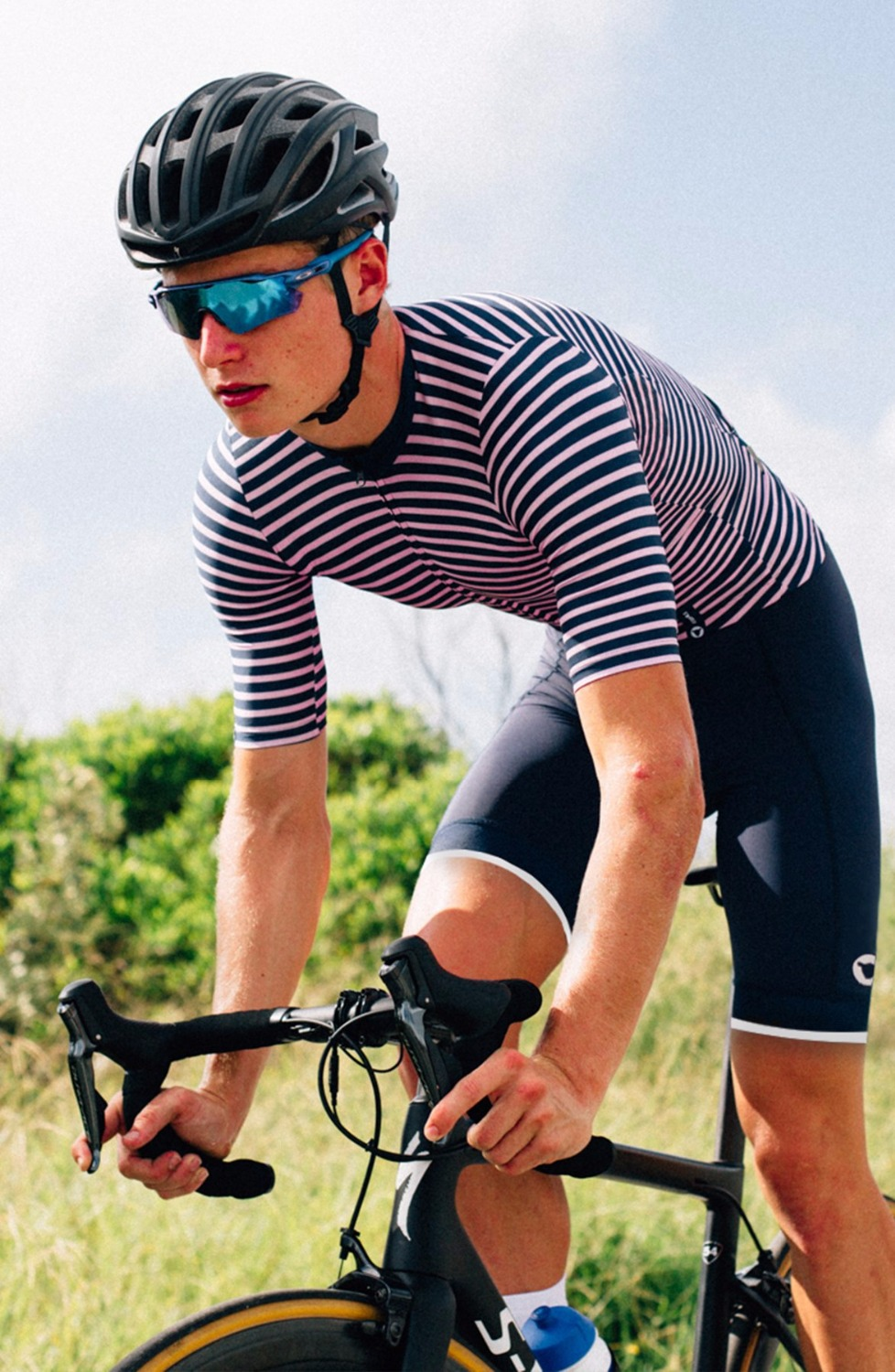 2018 Top quality pro team black sheep Collection Men s Stripes cycling  jersey Tight fit Summer mtb bike shirt tops sportswear-in Cycling Jerseys  from Sports ... 44fbe469c