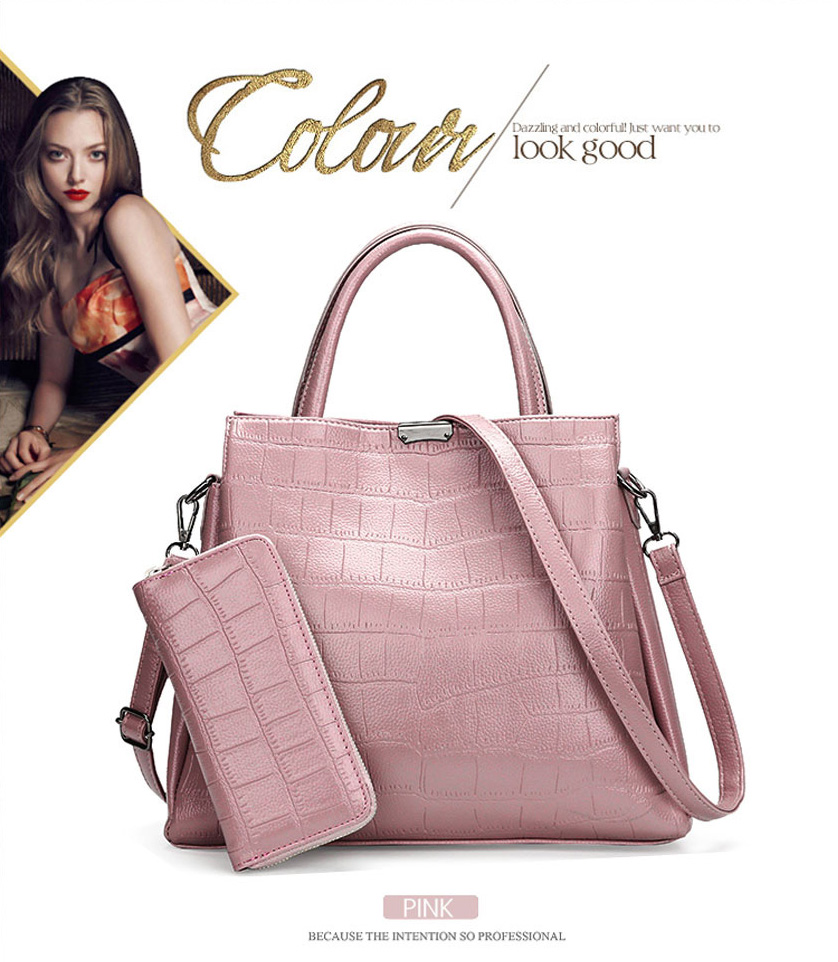 ea0b6360dcd Detail Feedback Questions about TRISJEM Women Leather Handbags ...