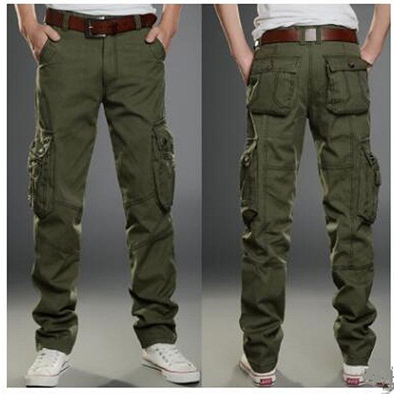 2017 Marke Mens Fashion Military Cargo Pants Multi-taschen Baggy Männer Hosen Casual Hosen Overalls Armee Hosen Jogger In Den Spezifikationen VervollstäNdigen