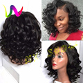 Lace Front Short Synthetic Wigs For Black Women Afro Curly Lace Front Wigs Synthetic Heat Resistant Synthetic Lace Front Wigs