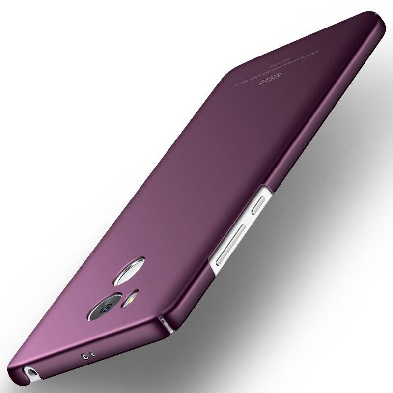 For Xiaomi Redmi 4 Pro Cases 5 Luxury MSVII Brand Slim Back Cover Case For Xiaomi