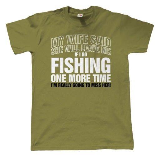 If I IR de pesca Again Camiseta divertida hombre - Regalo Para Padres Navidad