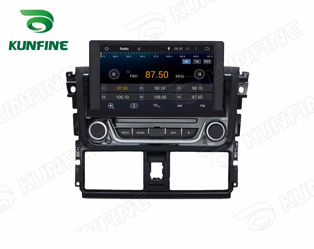 Car dvd GPS Navigation player for yaris 2014 E