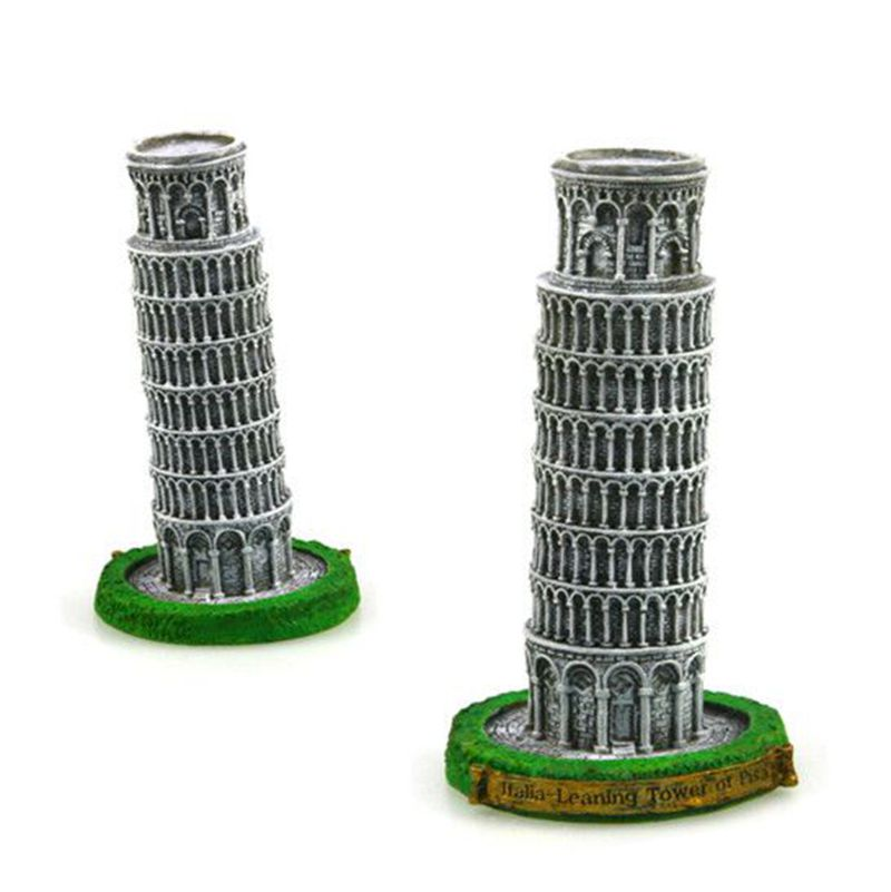 Leaning Tower of Pisa, Italy Creative Resin Crafts World Famous Landmark Model Tourism Souvenir Gifts Collection Home Decor