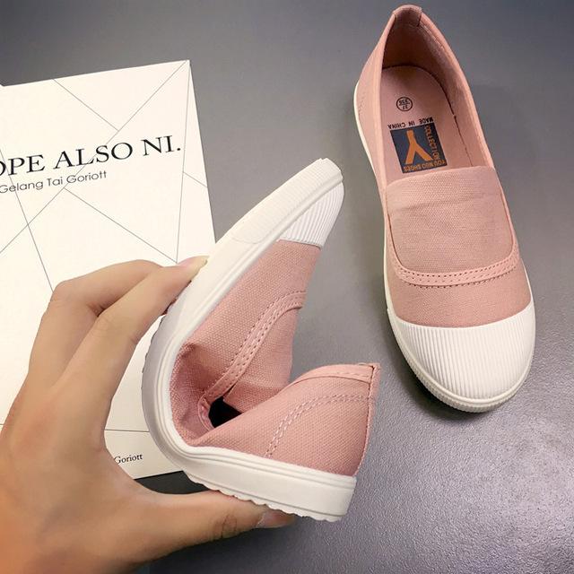 Kobiety na co dzień mody nowe miękkie dno białe buty jednolity kolor płytkie buty tenisówki dziewczyny trampki generacji YJ-04