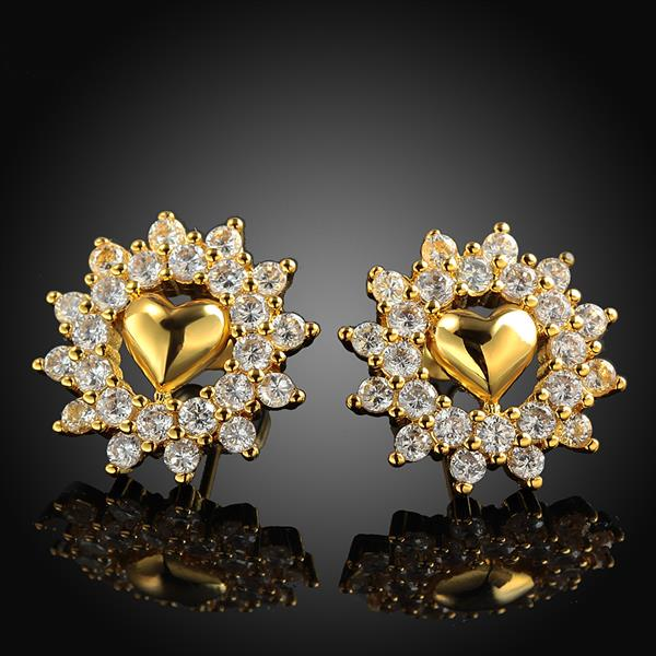 18k Gold Earrings For Kids Platinum 026 Luxury Baby 83326 Aaaaaa In Stud From Jewelry