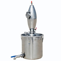 ECO SOURCES 65L Stainless Alcohol Distiller Home Brew Kit Beer Wine Making Boiler Brewed Wine