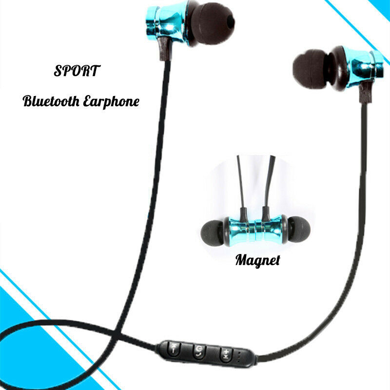 XT-11 Magnetic Bluetooth Earphone V4.2 Stereo Sports Earbuds Wireless in-ear Headset with Mic for iPhone Samsung huawei magnetic attraction bluetooth earphone headset waterproof sports 4.2