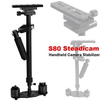 New S80 Steadicam 80cm Handheld Camera Stabilizer Compact Steadycam Minicam for Canon Nikon Sony DSLR Camcorder DV Camera Video