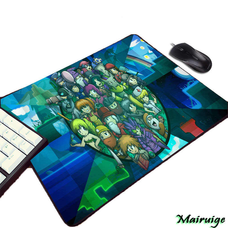 Mairuige So Cool Creative Game Image Terraria Wallpaper Diy Print Rubber  Mouse Pad for Decorate Tabletop Gaming Player Gamer Mat