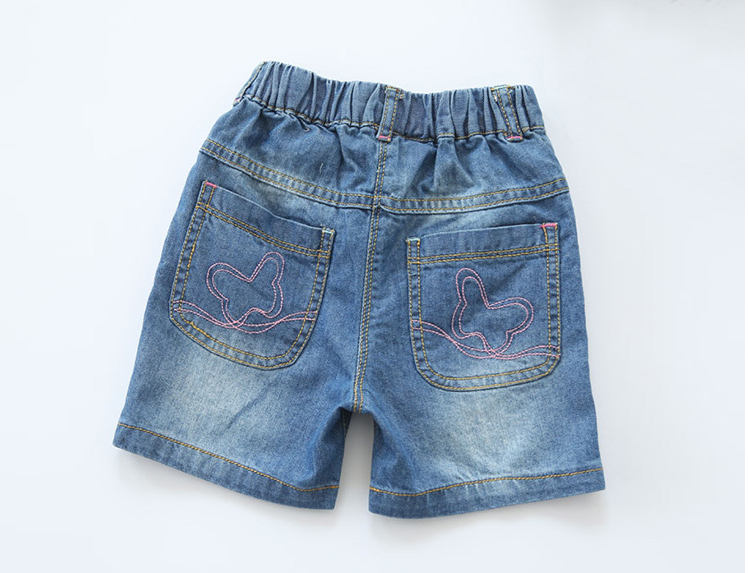 New Arrival Baby Girls Summer Denim Shorts Girls Character ...