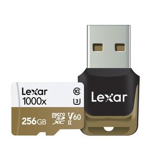 Image 5 - Lexar Micro carta di DEVIAZIONE STANDARD Professionale 1000x150 MB/s 32GB Classe 10 64GB 128GB TF lettore di Schede di Memoria Flash per Drone Videocamera di Sport
