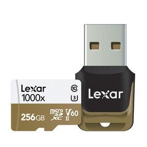 Image 5 - Thẻ nhớ Lexar Micro SD card Chuyên Nghiệp 1000x150 MB/S 32GB Class 10 64GB 128GB TF đèn Flash Đầu Đọc Thẻ Nhớ cho Máy Bay Thể Thao Máy Quay Phim