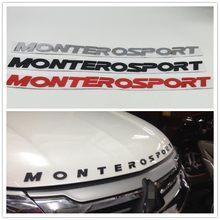 Logotipo Do Emblema Do Emblema da frente Hood Boonet Para Mitsubishi Pajero Montero Esporte Monterosport Suv