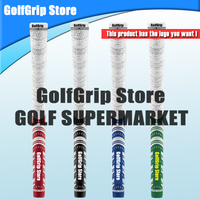 Direct Deal Classic whiteout Golf Grips Standard Golf Clubs Grips Rubber Cotton 13pcs/lot 50g+-3 freeshiping