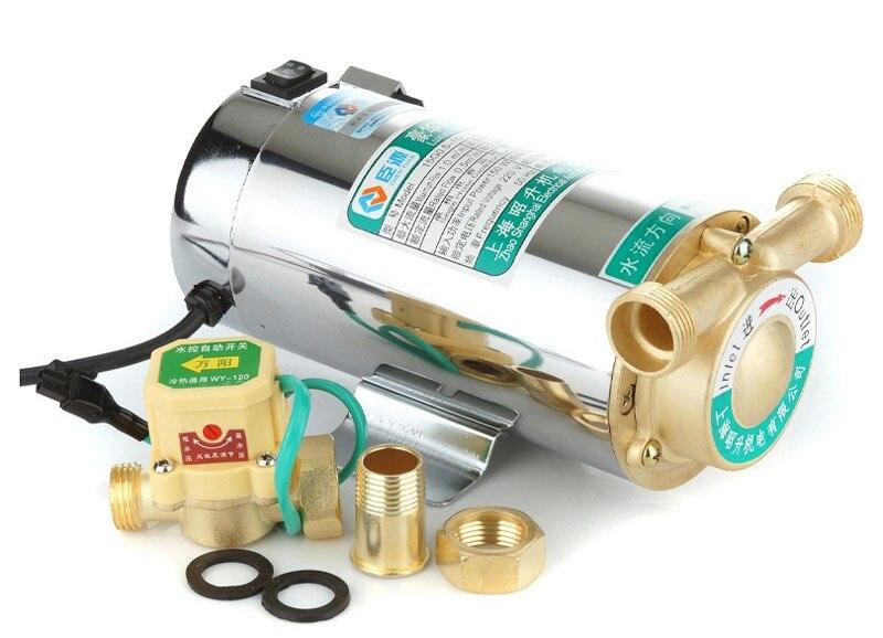 220 v ménage automatique chauffe-eau à gaz solaire pompes à eau pompe à pression d'eau 150 w