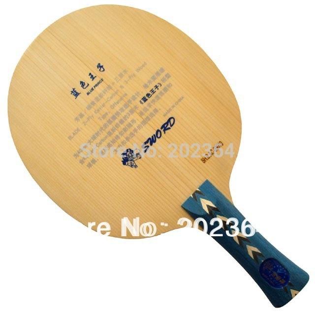 Sword Blue Prince ( 2-Ply Kevlar-Carbon & 3-Ply Wood) OFF Shakehand Table Tennis Balde for PingPong Racket акустические кабели supra ply 2 0 spool