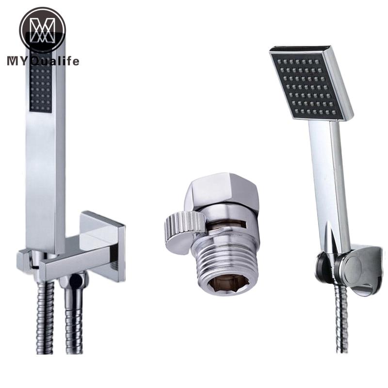 Free Shipping Best Quality Bathroom Handheld Shower head Wall ...