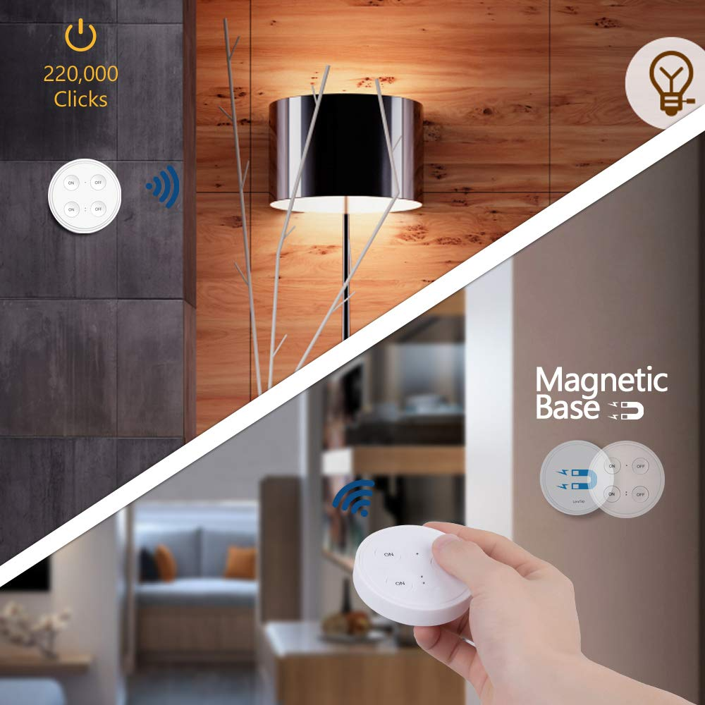 Image 2 - Wireless Socket Kit, EU Plug and MINI Wireless Switch, Mountable or Portable, Remote Control Device Outlet up to 30m-in Electrical Sockets from Home Improvement