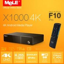 MeLE F10 Pro + 4 K Android Media Player Realtek X1000 4 K 1195 H.264 HDMI 1.4 Blu-ray 3D ISO H.265 BDMV Samba Dolby DTS XBMC