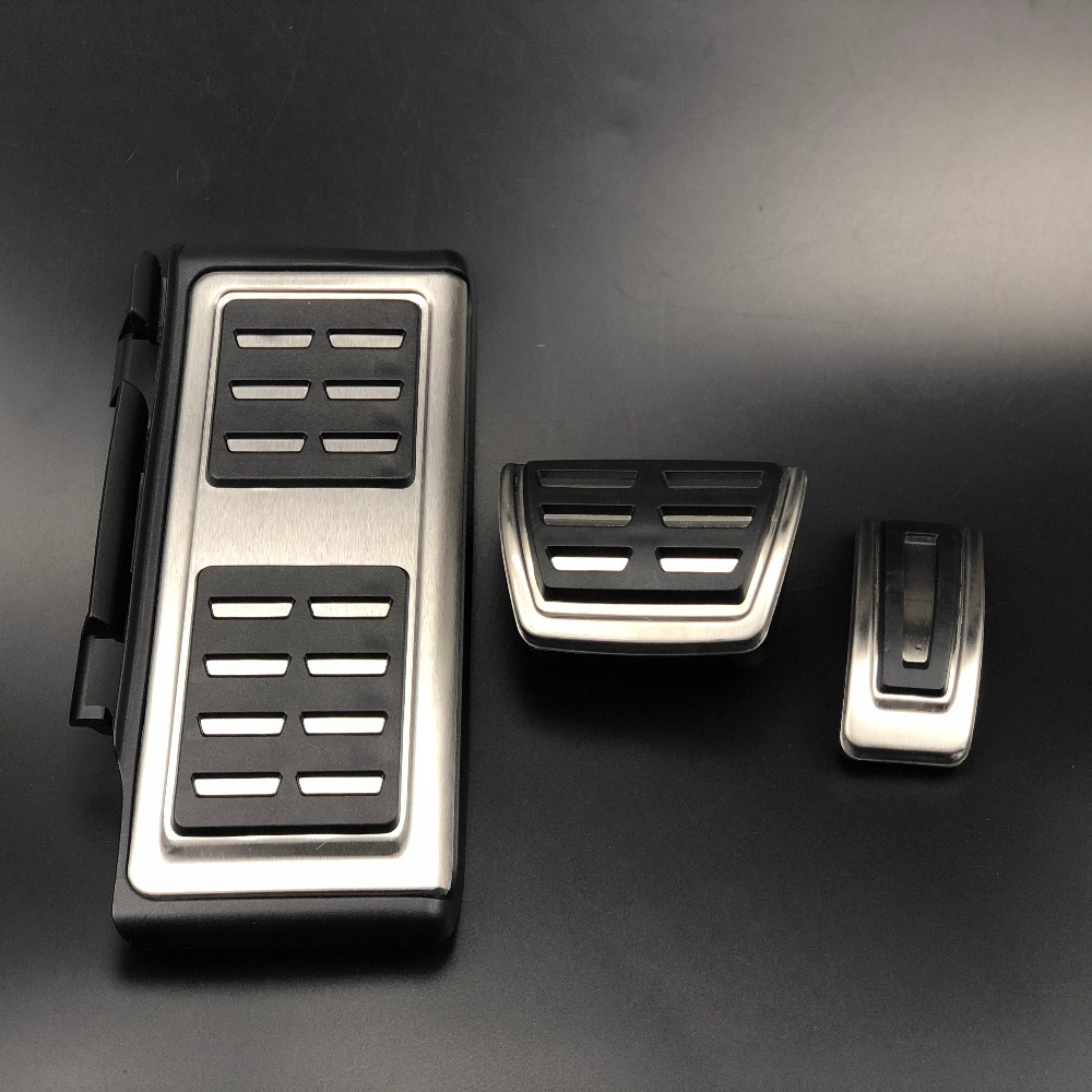 Car Accessories <font><b>Pedal</b></font> For Volkswagen Passat B8 Golf 7 MK7 POLO/For Seat Leon/ For Skoda Octavia A7 Rapid Superb/For <font><b>Audi</b></font> <font><b>A3</b></font> 8V image