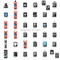37 In 1 Box Sensor Kit Module Suite Variety For Arduino DIY Free Shipping Drop Shipping