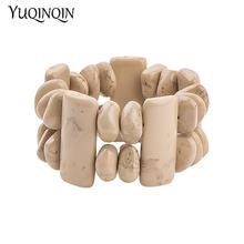 Женские классические браслеты манжеты из полимера эластичные