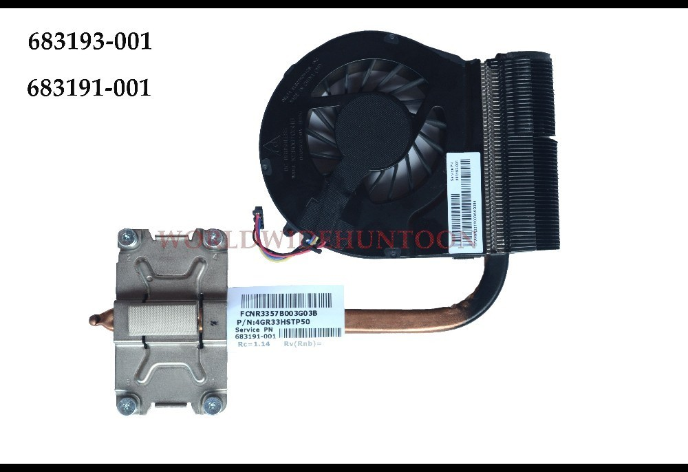 High quality Original CPU fan for HP Pavilion G4-2000 G6-2000 G7 G7-2000 CPU Cooling Fan cooler 683191-001 683193-001 Heatsink 747608 001 for cpu dimension cooler cooling proliant dl380 dl380p heatsink used condition