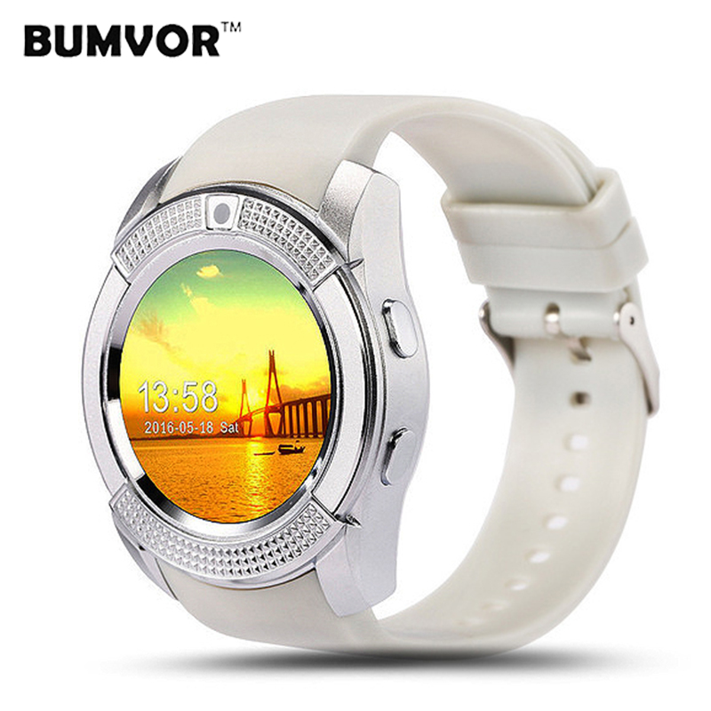 Smart Watch V8 Clock Sync Notifier Support SIM / TF Card Bluetooth Connection for Samsung xiaomi Android Phone Smartwatch mymei android smart watch gt08 clock with sim card slot push message bluetooth connectivity phone better than dz09 smartwatch
