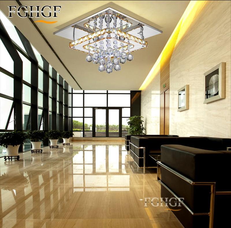 Σύγχρονη Crystal LED πολυέλαιος LED λάμπα - Εσωτερικός φωτισμός - Φωτογραφία 4