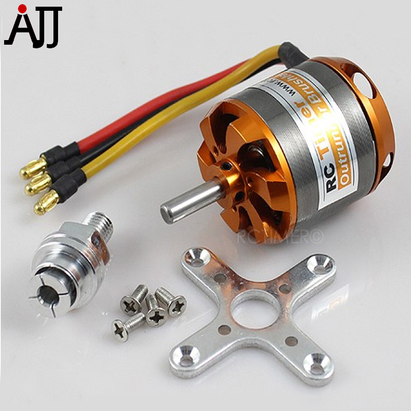 RCTimer BC3542 3542 1000KV <font><b>1250KV</b></font> 1450KV Outrunner <font><b>Brushless</b></font> <font><b>Motor</b></font> 5.0mm Shaft for RC Quadcopter DIY FPV Multirotor <font><b>Motors</b></font> image