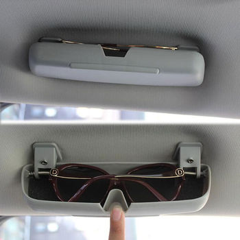 Auto Car Interior Top Roof Eyeglasses Glasses Box Storage Case Kit Fit For Jeep Compass Car Styling Interior Accessories image
