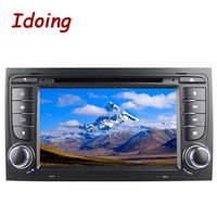 Car Multimedia DVD Player 2Din Steering Wheel For Audi A4 Android GPS Navigation Video 3G WIFI